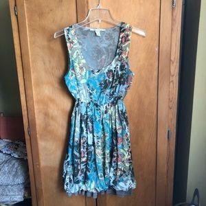 American rag printed dress, size small.